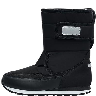 a0fb3585ddf Hummel Junior Stadil Reflex Winter Boot Black: Amazon.co.uk: Shoes & Bags
