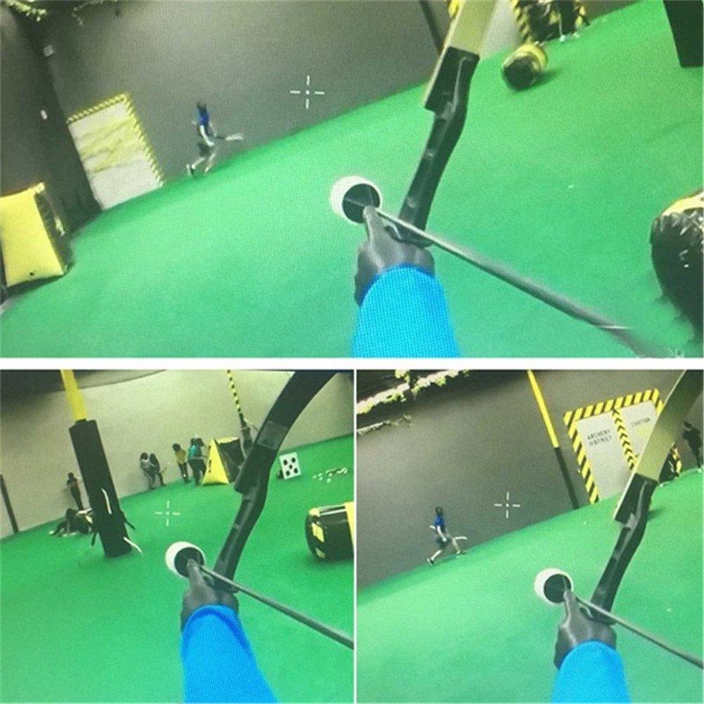 Cabeza Esponja de Espuma Tiro Con Archero,Practic/á de Tiro con Archero para Adultos AZX 6 PCS Punta de Flecha de Esponja