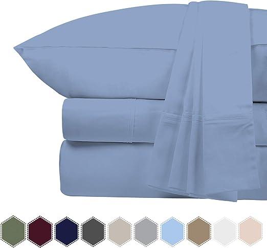 Bluemoon hogares auténtica Premium algodón Egipcio 1000 Hilos ...