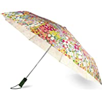 Kate Spade New York Floral Travel Umbrella, Floral Dot