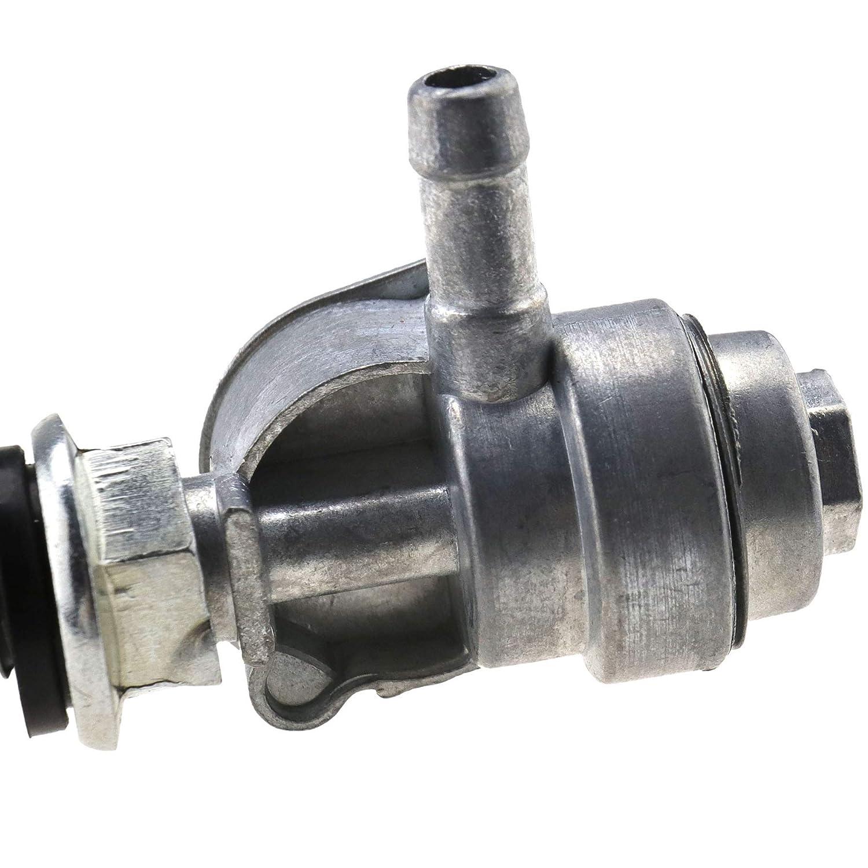 EMMA 2X Universal Benzinhahn Benzin Schalter f/ür Generator Gasmotor Kraftstofftanks