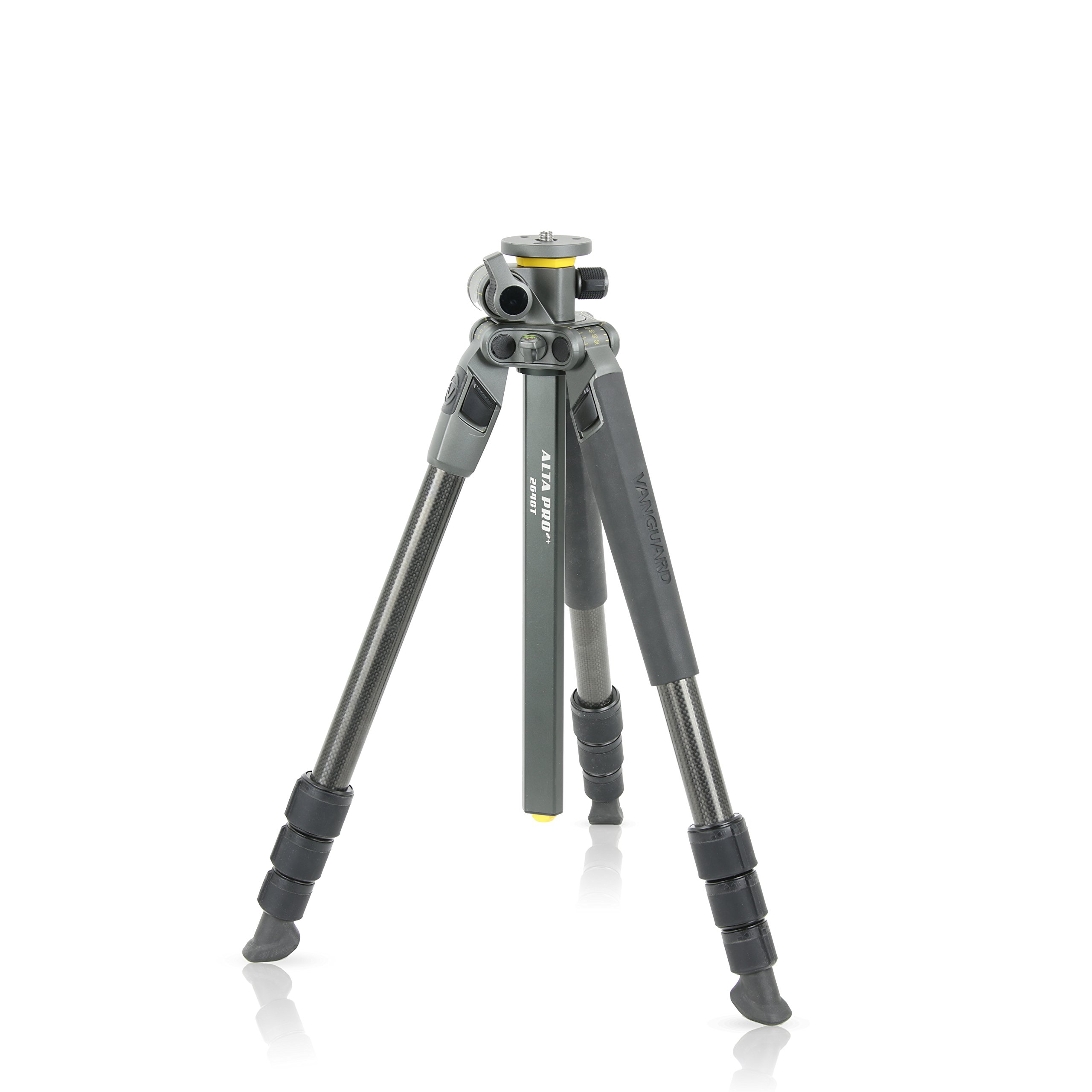 Vanguard Alta Pro 2+ 264CT Carbon Fiber Tripod, Multi-Angle Center Column, for Sony, Nikon, Canon DSLR Cameras