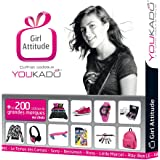 Coffret Cadeau Ado Fille – Coffret YOUKADO – Girl Attitude Premium