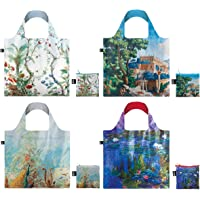 LOQI Museum13 Collection Pouch Reusable Bags, Set of 4