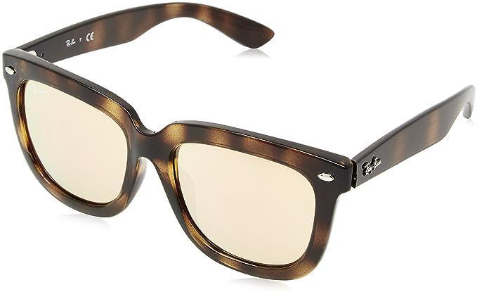 db051afd61 Ray Ban RB4194 710 85 Light Havana   Brown Gradient Sunglasses   Amazon.co.uk  Clothing