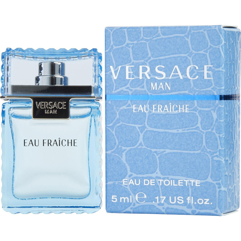 VERSACE MAN EAU FRAICHE by Gianni Versace EDT .17 OZ MINI for MEN ---(Package Of 6)