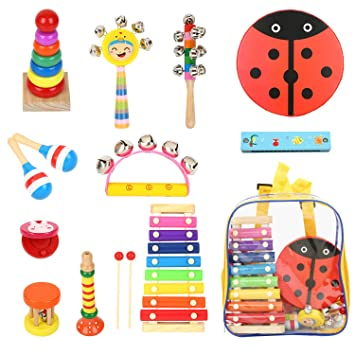 random Color Shop For Cheap Orff Instruments Childrens Musical Instrument Hand Drum Tambourine Toys Kids Musical Instruments Musical Instruments Percussion Instruments