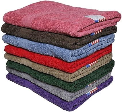 "La zona de lino toalla toallas de baño (36 ""x 68"" 100"
