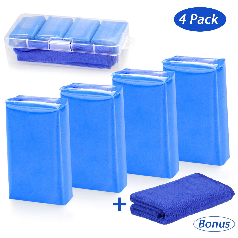 Tencoz AM003 Detergente per Cerchioni Auto, Moto, roulotte, plastilina per la Pulizia della Vernice, plastilina Blu, 100 g 3 Magiculture Store