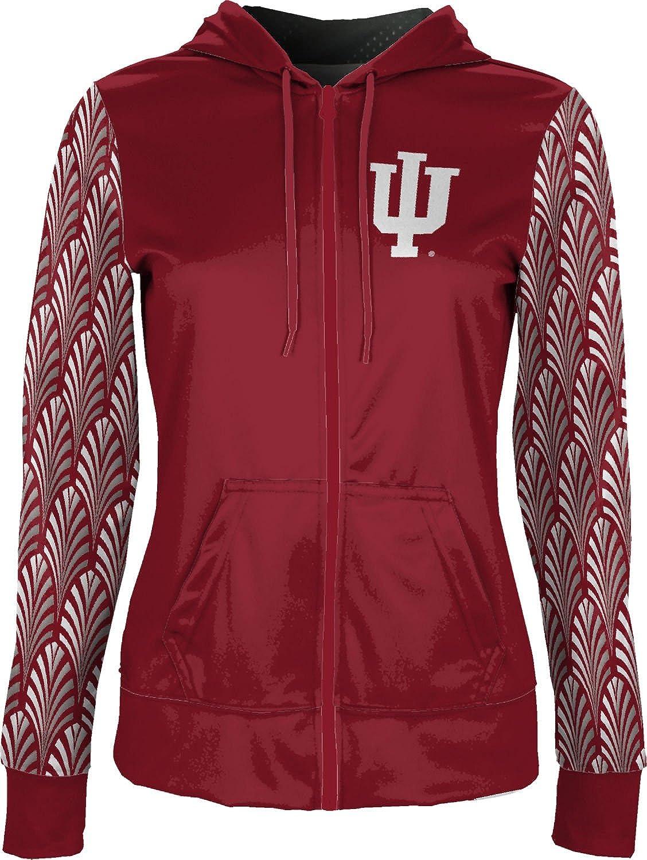 Deco ProSphere Indiana University Girls Zipper Hoodie School Spirit Sweatshirt