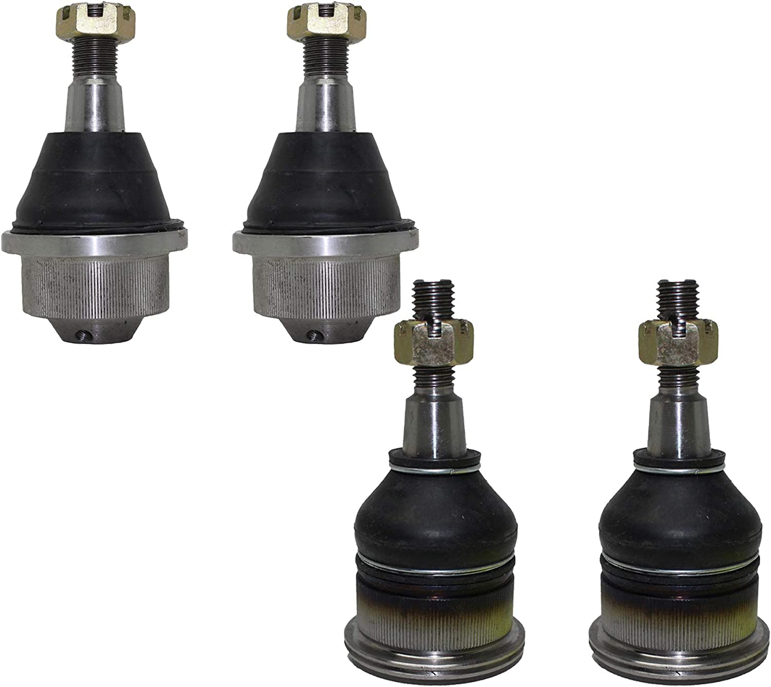 Ball Joint Front Upper Lower Kit Set of 4 for Chevy GMC Silverado Sierra Yukon