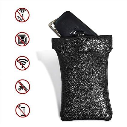ccbd27d81990 Amazon.com: Itechshop Car Key Signal Blocking Bag, Faraday Bag PU ...