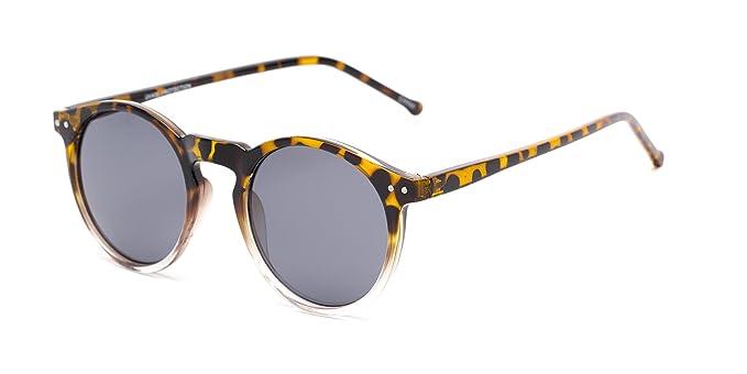 Amazon.com: Sunglass Warehouse | The Lincoln Sunglasses - Round ...