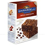 Ghirardelli Chocolate Triple Chocolate Brownie Mix 2.26kg