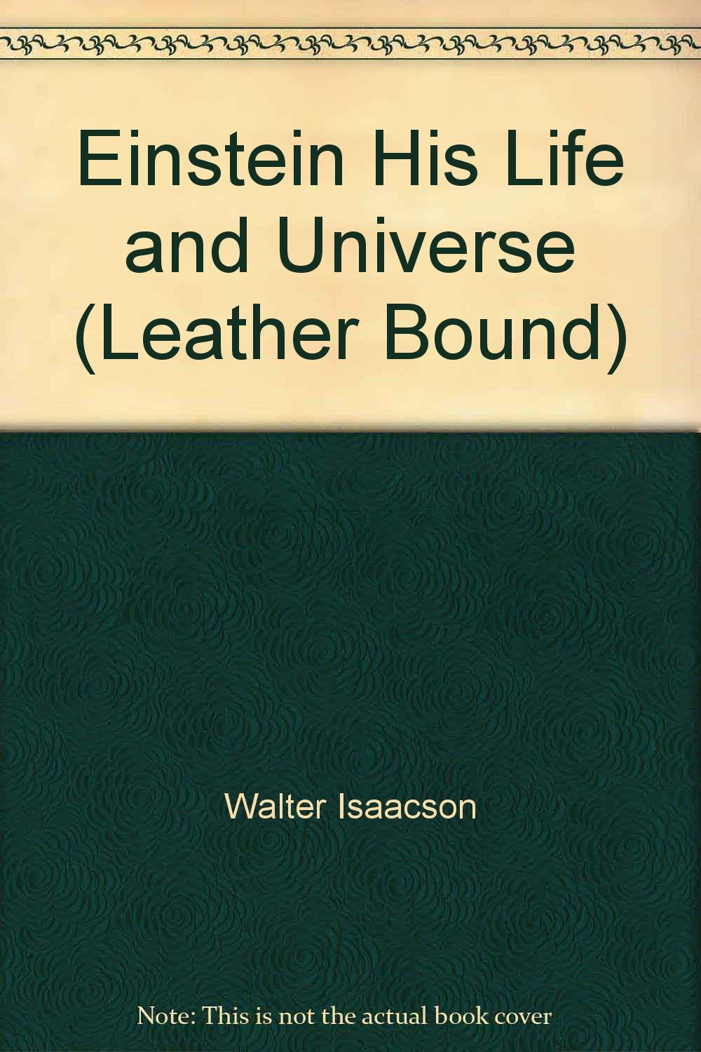 Einstein Life Universe Leather Bound product image