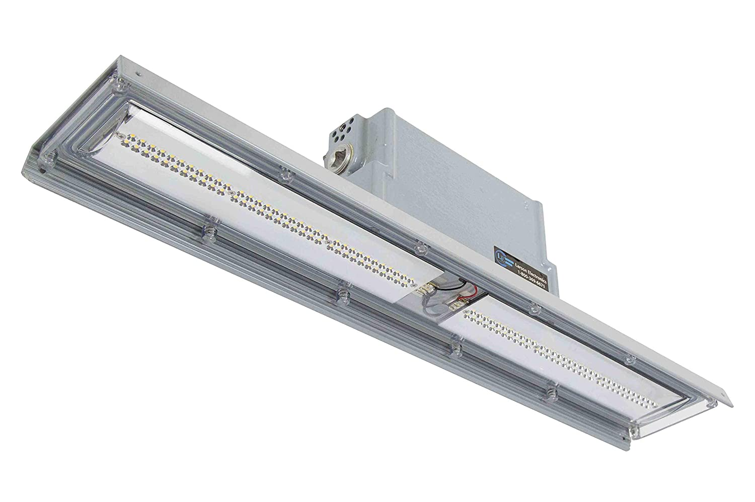 Explosion proof low profile linear led light pendant mounted 3600 lumens class 2 div 1 commercial bay lighting amazon com