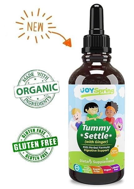 JoySpring Medicina de la enfermedad del movimiento para niños - El jengibre orgánico ayuda con Naseua
