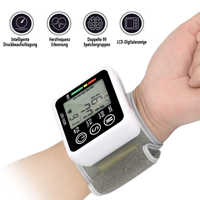 yivans JZK de oo2r Muñequera Tensiómetro en prueba - Buena Base - La seguridad universal: Amazon.es: Salud y cuidado personal