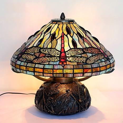 Lámpara de Tiffany estilo/Imitación clásico europeo art deco ...