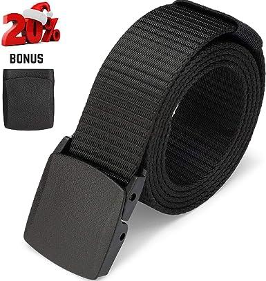 Casual Military Grade Polymer Buckle Nylon Belt Automatic Buckle Nylon Belt Male