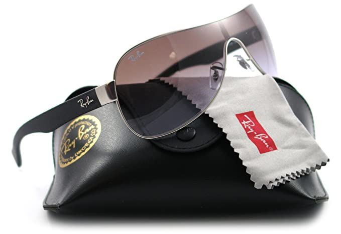 Ray-Ban Gafas de Sol MOD. 3471 SOLE019/68 Plateado: Amazon ...