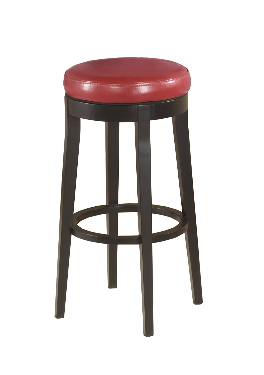 Amazoncom Armen Living Mbs 450 Backless Swivel Barstool 30 Inch