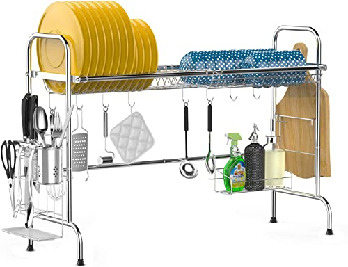 Over The Sink Dish Drying Rack