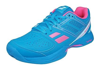 Babolat Pulsion BPM Clay Padel Zapatillas de Deporte para mujer-Blue-37