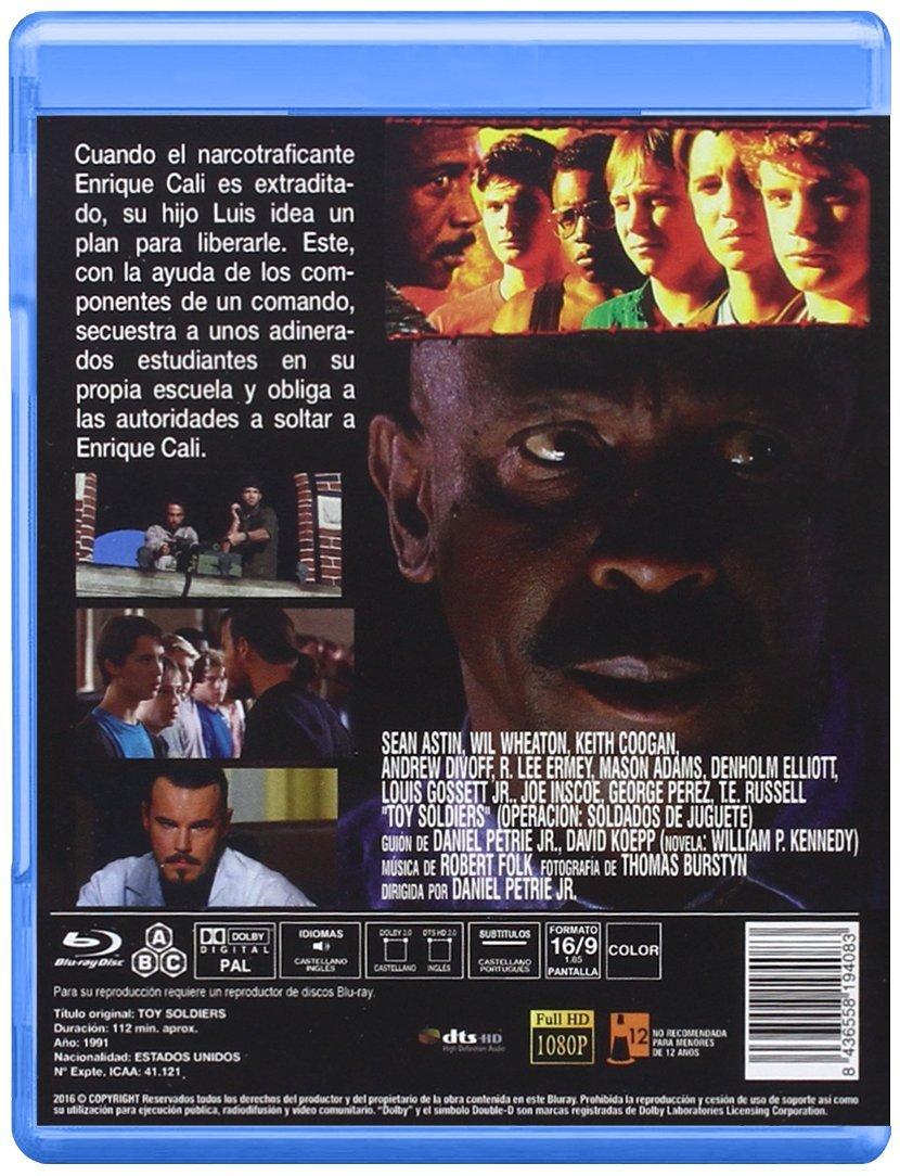 Operación Soldados de Juguete BD 1991 Toy Soldiers Blu-ray ...