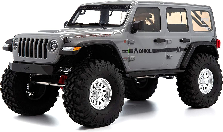 Axial SCX10 III Jeep JL Wrangler 4WD RTR Grey AXI03003T1 ...