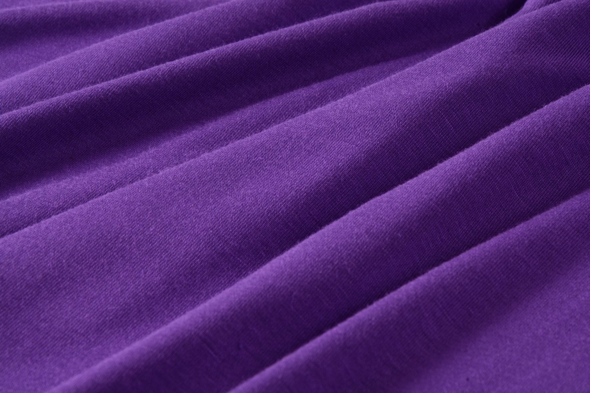 LARACE Lanmo Women Plus Size 3/4 Sleeve Tunic Tops Loose Basic Shirt (M, Deep Purple)