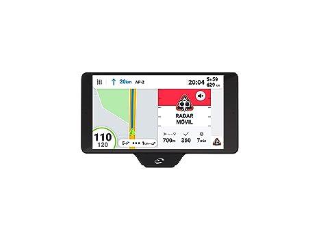 Coyote - Coyote Nav+ - Asistente de Conducción - GPS con mapas 3D - Alertas de Radar - Pantalla táctil - Límites de Velocidad, incidencias de la ...