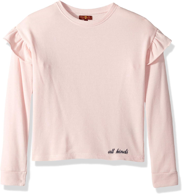 7 For All Mankind Girls Ruffle Sweatshirt