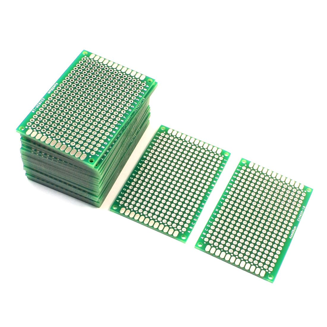 Product Name Double Sided Printed Circuit Board Uxcell A14041800ux1143 25pcs Protoboard Prototyping Pcb 4cm X 6cm