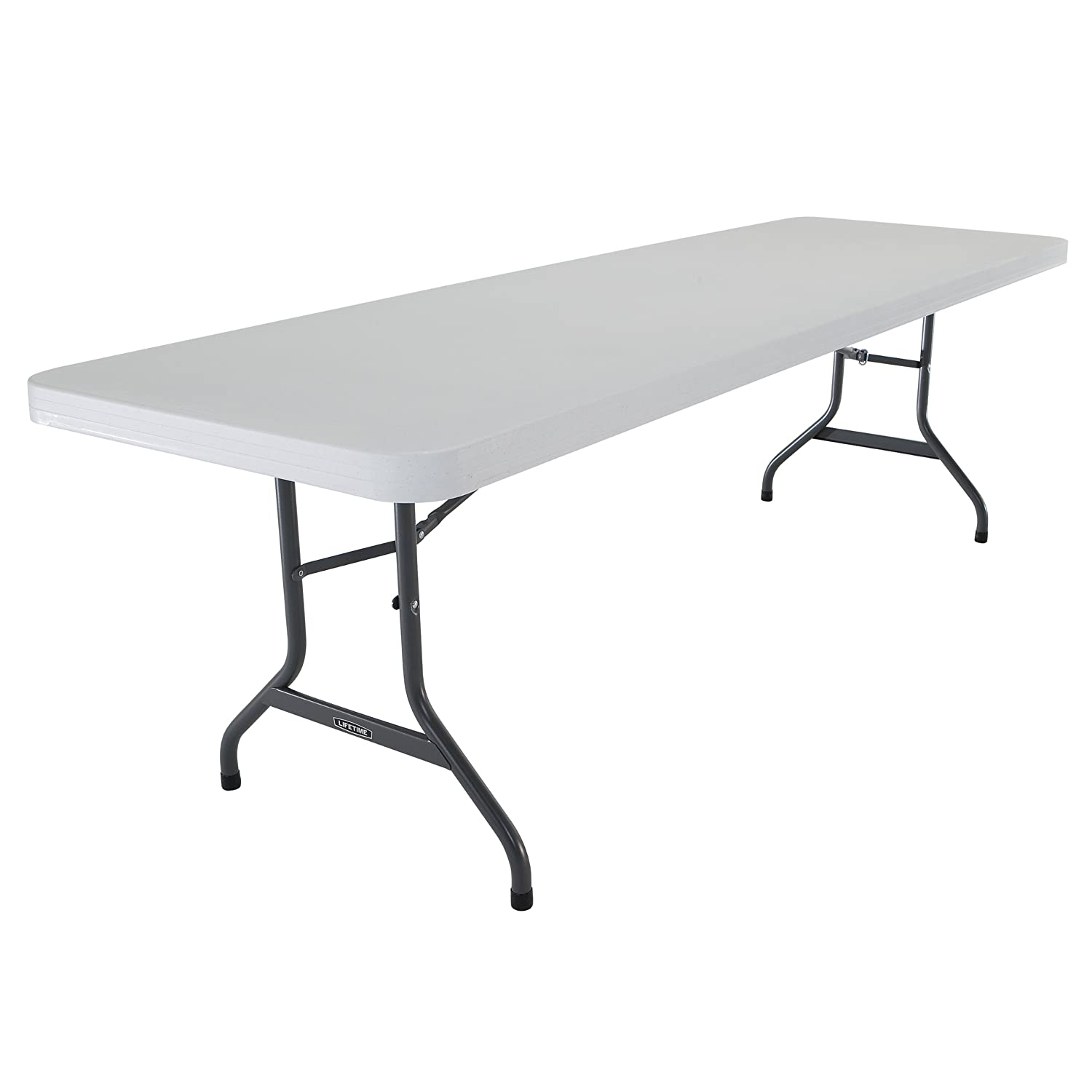 Attrayant Amazon.com : Lifetime 22984 Folding Utility Table, 8 Feet, Almond : Folding  Patio Tables : Garden U0026 Outdoor
