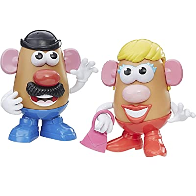 Playskool Mr Potato Head and Mrs Potato Head Bundle of 2 Complete Spud Characters: Toys & Games