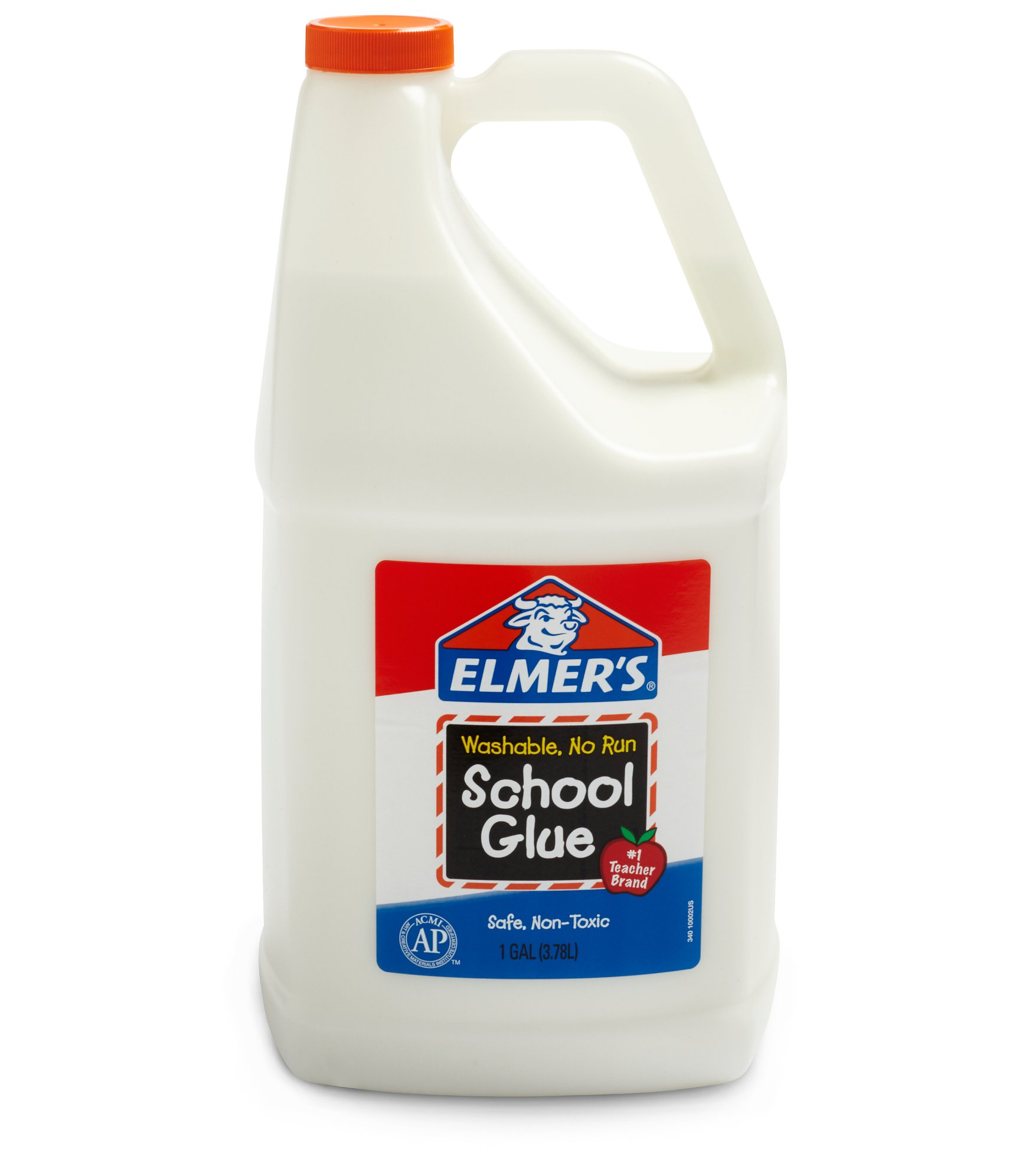 Elmer's Liquid School Glue, Washable, 1 Gallon, 1 Count - Great For Making Slime
