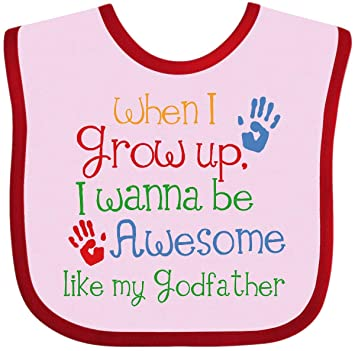 Fasenix My Awesome Godfather Newborn Baby Boy Girl Romper Jumpsuit Long Sleeve Bodysuit Overalls Outfits Clothes