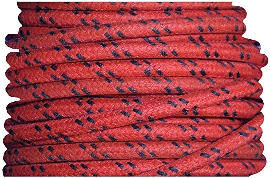 Cloth Covered Primary Wire  18 gauge Black 10 feet