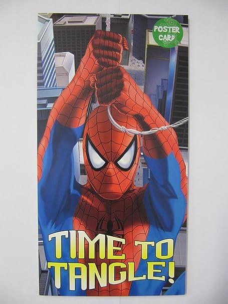 Fantástico Spider-Man tiempo a Tangle cartel tarjeta de ...