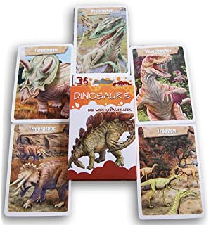 Amazon.com: Dinosaur 4D Flashcards: Toys & Games