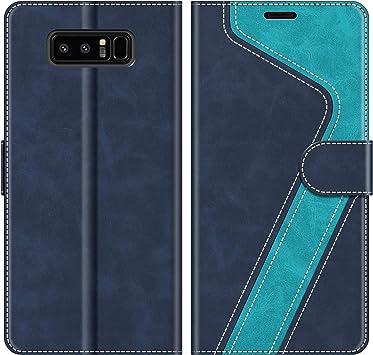 MOBESV Funda para Samsung Galaxy Note 8, Funda Libro Samsung Note ...