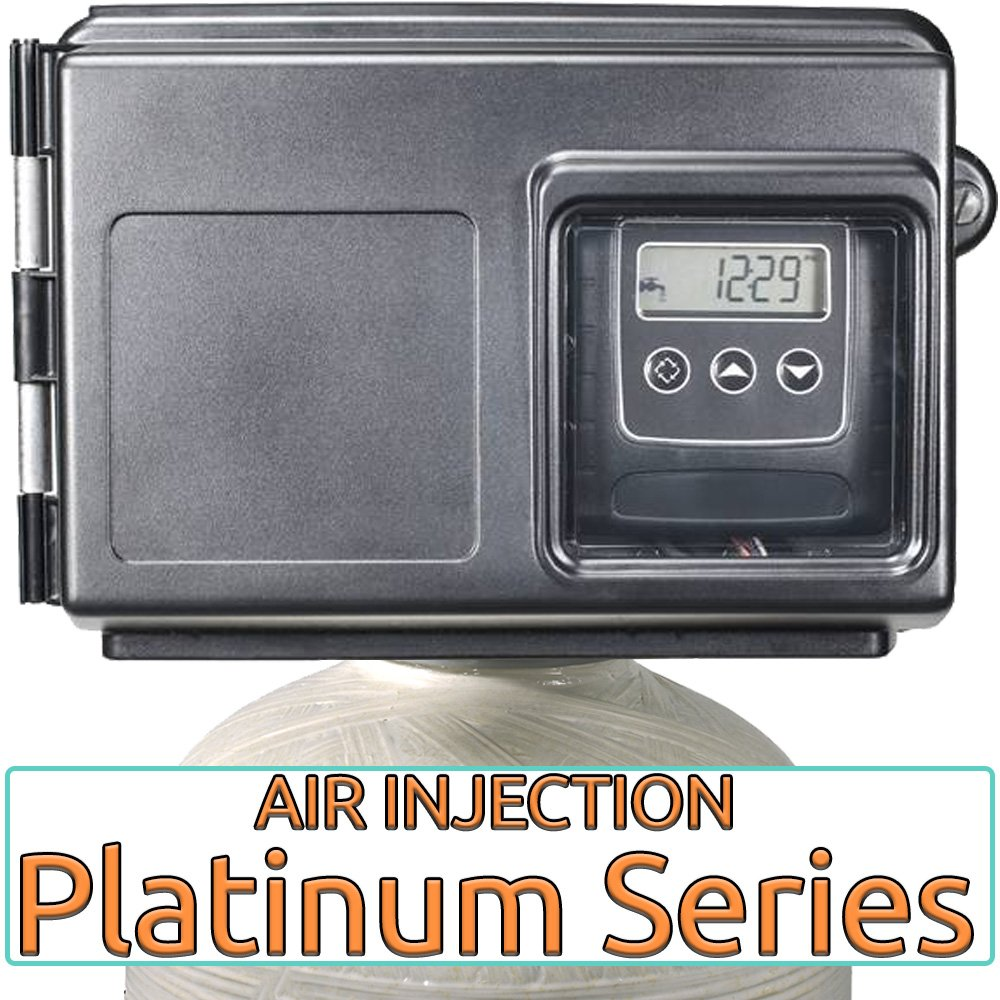 Platinum series air injection iron, sulfur removal filter system