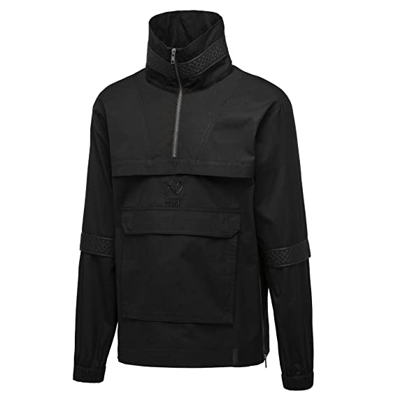 9ea7f7e93a1 Puma x XO TheWeeknd - Half Zip Jumper - Black 57689401  Amazon.co.uk   Clothing