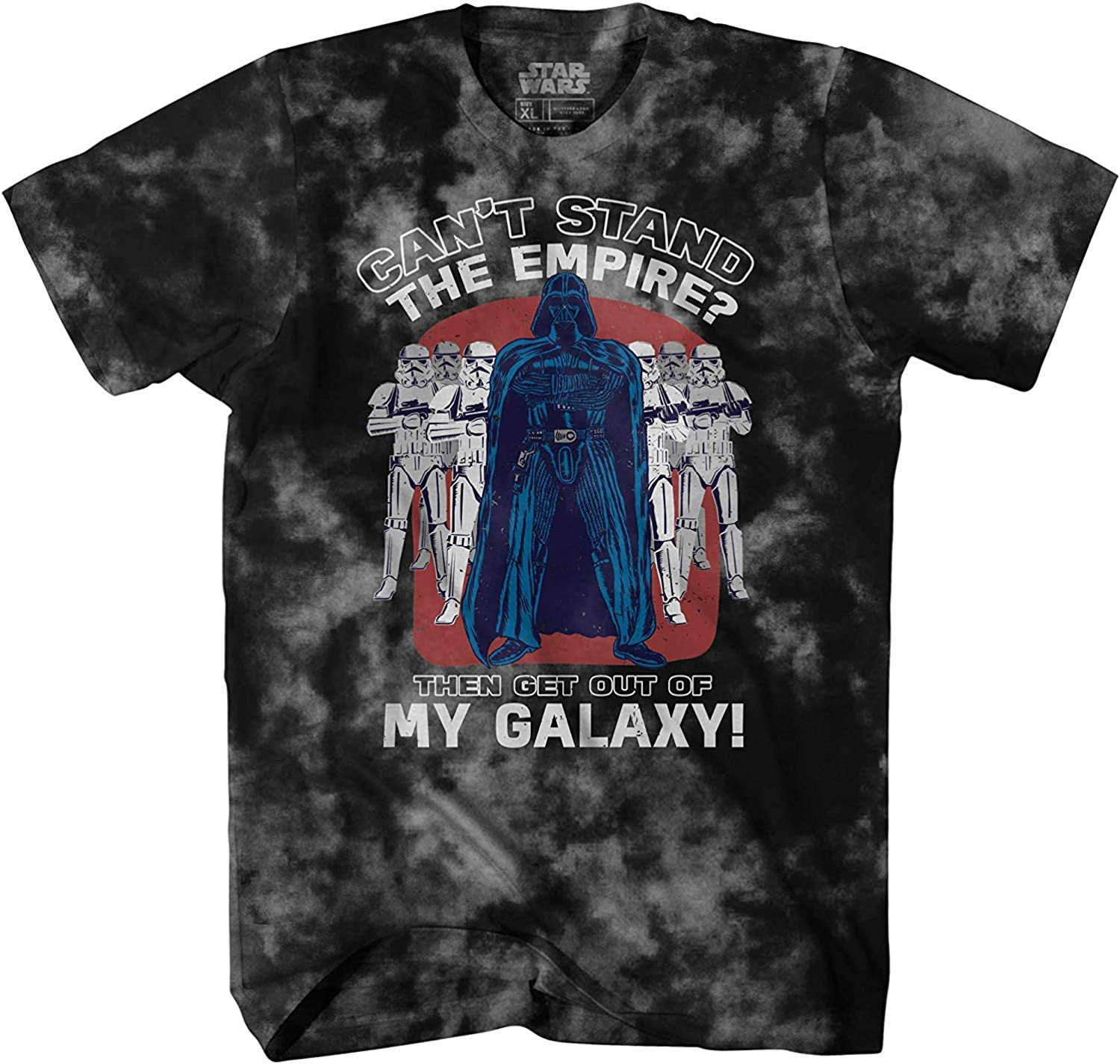 Star Wars Darth Vader Empire Galaxy Funny Humor Pun Adult Tee Graphic T-Shirt for Men Tshirt