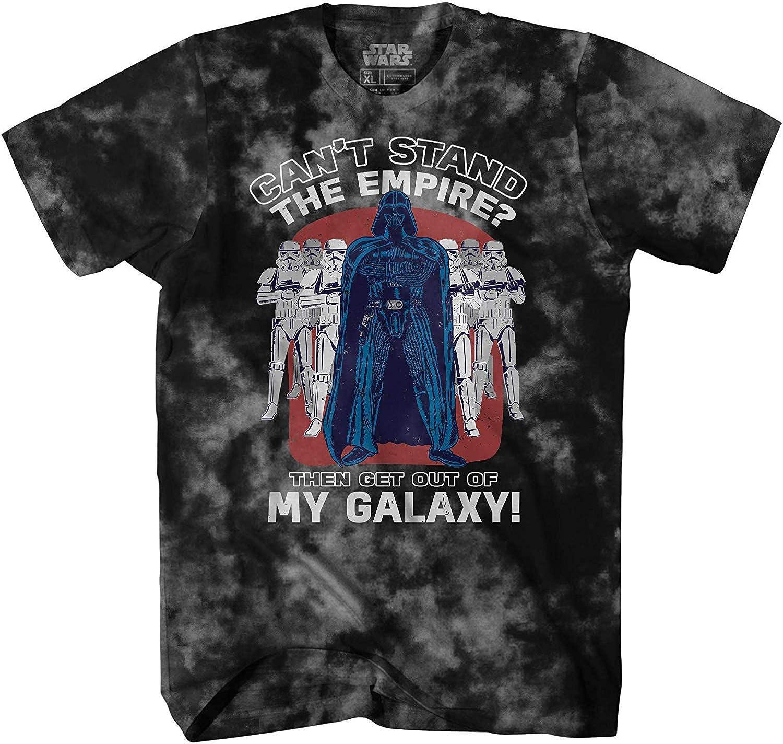 Star Wars Darth Vader Empire Galaxy Funny Humor Pun Adult Tee Graphic T-Shirt for Men Tshirt