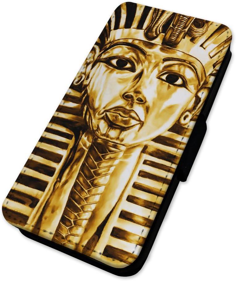Faraón Tutankamón egipcio – Mummy – Flip Teléfono Móvil Cubierta, Nokia Lumia 435: Amazon.es: Electrónica