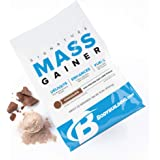 Bodybuilding Signature Mass Gainer Protein Powder Chocolate | Muscle Builder | 67g Lean Muscle Gaining Protein | 10 pounds, 22 Servings