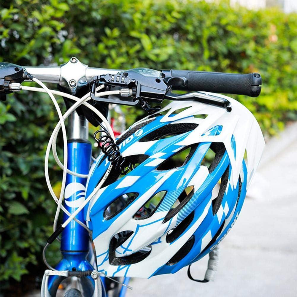 Alacritua Motorrad Helmschloss Leichtes Skischloss Kabel Sicherheit Combination Lock Karabiner f/ür Motorradhelm//Fahrradhelm//Kinderwagen
