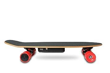 4 ruedas Tabla eléctrica para skate y longboard, Eléctrica monopatín 29 pulgadas Li-Ion recargable 350 W Motor de Hub con mando a distancia: Amazon.es: ...